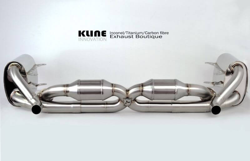 Kline Innovation Exhasts for Porsche